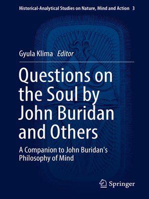cover image of Questions on the Soul by John Buridan and Others