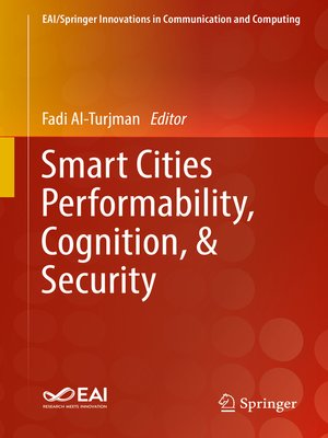 cover image of Smart Cities Performability, Cognition, & Security