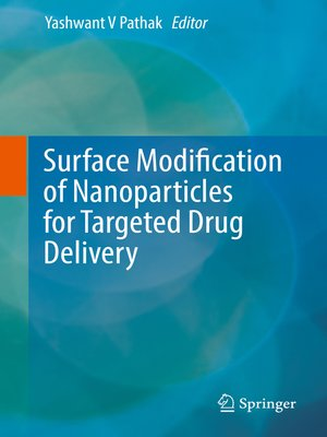 cover image of Surface Modification of Nanoparticles for Targeted Drug Delivery
