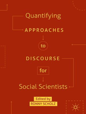 cover image of Quantifying Approaches to Discourse for Social Scientists