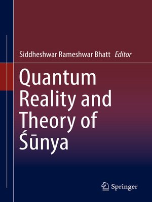 cover image of Quantum Reality and Theory of Śūnya