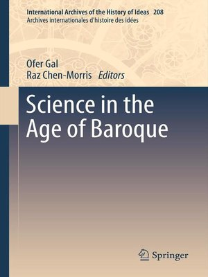 cover image of Science in the Age of Baroque
