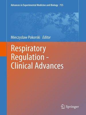 cover image of Respiratory Regulation--Clinical Advances