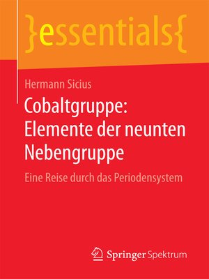 cover image of Cobaltgruppe