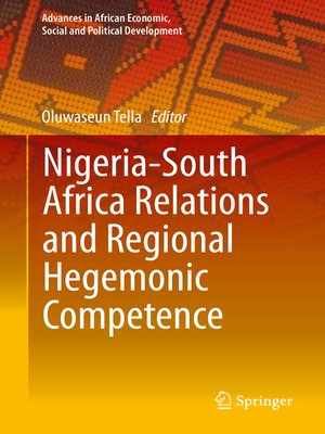 cover image of Nigeria-South Africa Relations and Regional Hegemonic Competence