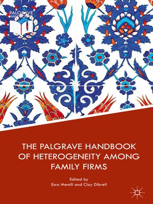 cover image of The Palgrave Handbook of Heterogeneity among Family Firms