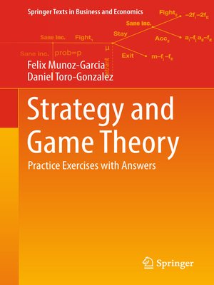 cover image of Strategy and Game Theory