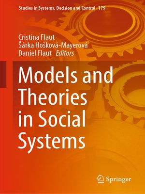cover image of Models and Theories in Social Systems