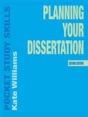 cover image of Planning Your Dissertation