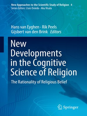 cover image of New Developments in the Cognitive Science of Religion