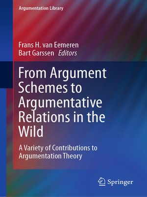 cover image of From Argument Schemes to Argumentative Relations in the Wild
