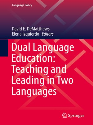 cover image of Dual Language Education