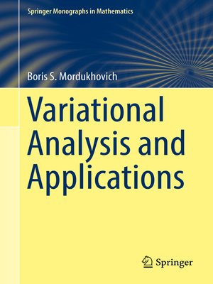 cover image of Variational Analysis and Applications