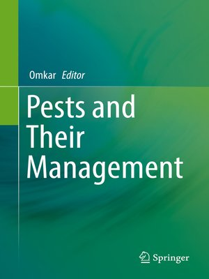 cover image of Pests and Their Management