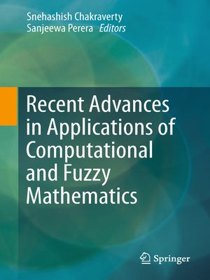 cover image of Recent Advances in Applications of Computational and Fuzzy Mathematics