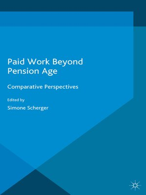 cover image of Paid Work Beyond Pension Age