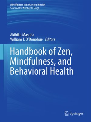 cover image of Handbook of Zen, Mindfulness, and Behavioral Health