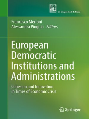 cover image of European Democratic Institutions and Administrations