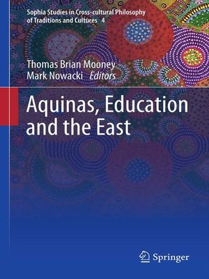 cover image of Aquinas, Education and the East