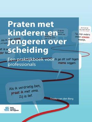 cover image of Praten met kinderen en jongeren over scheiding