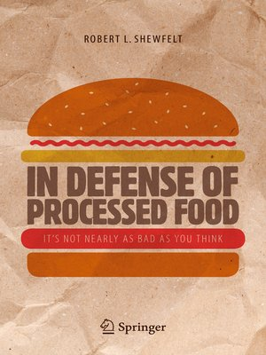 cover image of In Defense of Processed Food