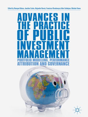 cover image of Advances in the Practice of Public Investment Management