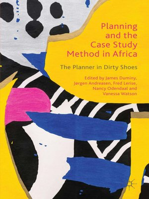 cover image of Planning and the Case Study Method in Africa