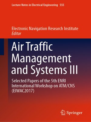cover image of Air Traffic Management and Systems III