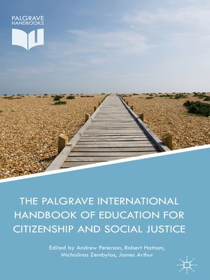 cover image of The Palgrave International Handbook of Education for Citizenship and Social Justice