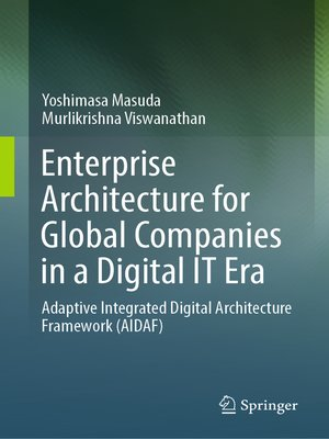 cover image of Enterprise Architecture for Global Companies in a Digital IT Era
