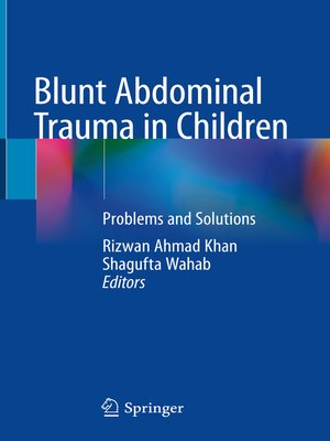 cover image of Blunt Abdominal Trauma in Children