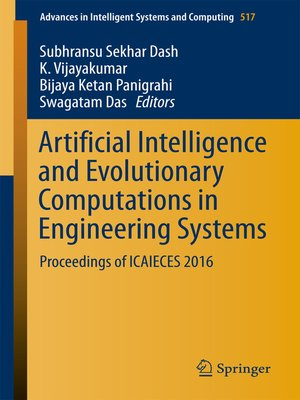 cover image of Artificial Intelligence and Evolutionary Computations in Engineering Systems