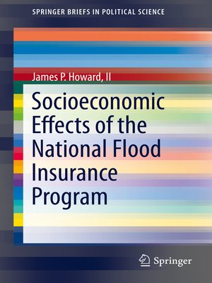 cover image of Socioeconomic Effects of the National Flood Insurance Program