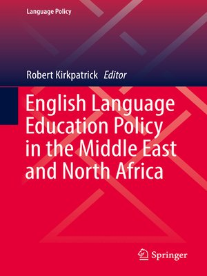 cover image of English Language Education Policy in the Middle East and North Africa
