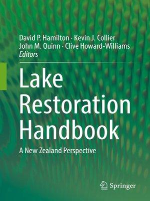 cover image of Lake Restoration Handbook