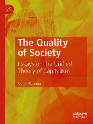 cover image of The Quality of Society