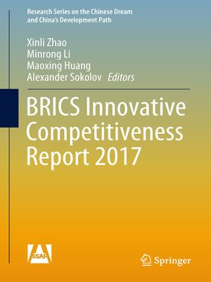 cover image of BRICS Innovative Competitiveness Report 2017