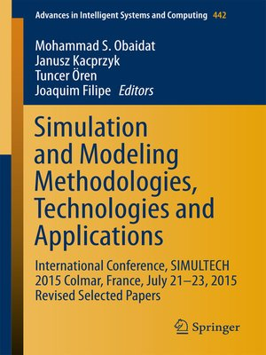 cover image of Simulation and Modeling Methodologies, Technologies and Applications