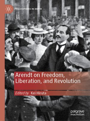 cover image of Arendt on Freedom, Liberation, and Revolution