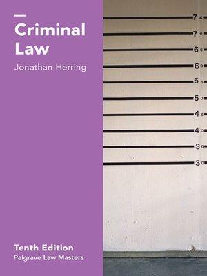 jonathan herring family law ebook