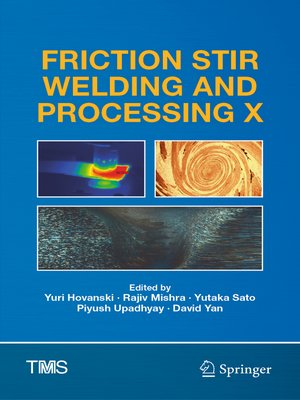 cover image of Friction Stir Welding and Processing X