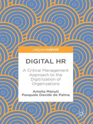 cover image of Digital HR