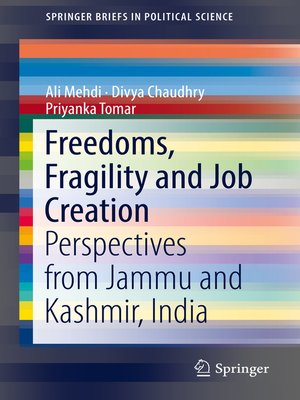 cover image of Freedoms, Fragility and Job Creation