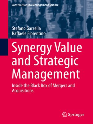 cover image of Synergy Value and Strategic Management