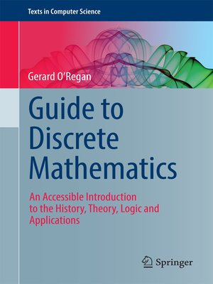 cover image of Guide to Discrete Mathematics