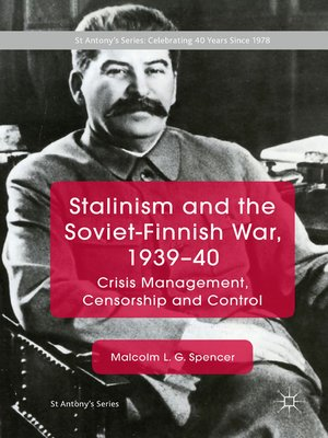 cover image of Stalinism and the Soviet-Finnish War, 1939–40