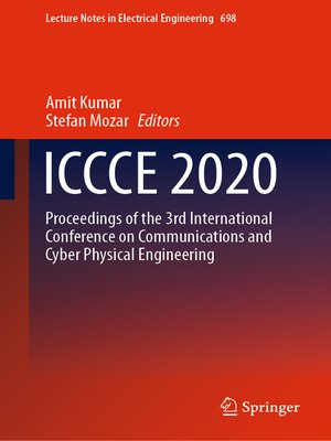 cover image of ICCCE 2020