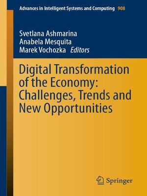 cover image of Digital Transformation of the Economy