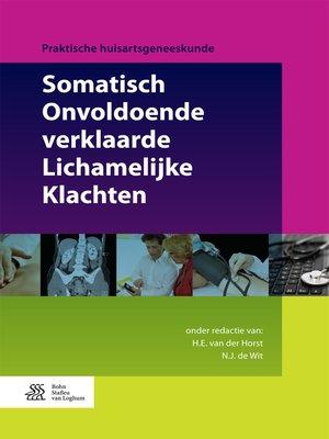 cover image of Somatisch Onvoldoende verklaarde Lichamelijke Klachten
