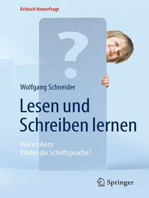 cover image of Lesen und Schreiben lernen